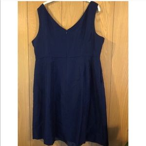 NWT J Crew Navy Fit and Flare